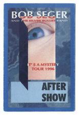 Bob Seger - It´s a Mistery Tour 1996 - Konzert-Satinpass blau - Sammlerstück
