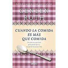 Cuando la comida es mas que comida (Spanish Edition)-ExLibrary