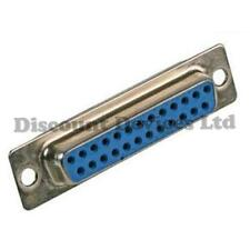 25 Pin D-Sub  Solder Socket Serial Port Connector 2x