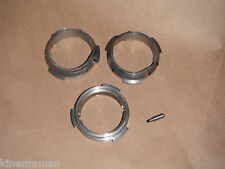 3 Aaton & CP? mount lens adapters excellent condition