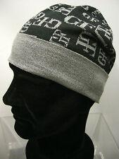 Cappello cuffia hat GIANFRANCO FERRE' 01220 T.unica c.001 nero black log Italy