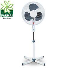 Ventilatore a Piantana Pala 40 cm Base a croce Oscillante 3 Velocità 40W 125 cm