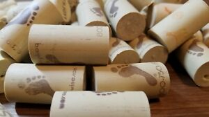 50 Synthetic Used Wine Corks, Mixed Lot BAREFOOT, SUTTER HOME, Fast Shipping!!