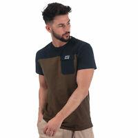 Mens Weekend Offender Gitarama Pocket T-Shirt In Green- Short Sleeve- Colour