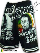 Rasta Short Bob Marley Song Of Freedom Free Size