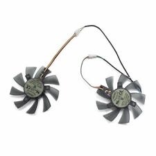 Gigabyte GTX 580 gaming 4gb MSI RX 460 480 580 Video Card Cooler Fan 2pcs 4Pin