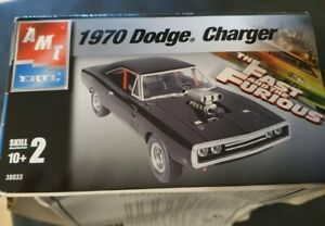 AMT ERTL Fast and the Furious Dodge Charger 1970  Kit 10+