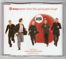 (HC350) Boyzone, When The Going Gets Tough - 1999 CD
