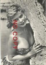 Allasio Marisa, Cinema, Movies, italian film actress.