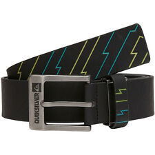 NEW* QUIKSILVER SURF BELT VEGAN MENS S M L XL OSFA Blue Green Black