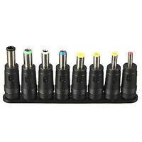 8 in 1 Universal AC DC Power Charger Adapter Tips for ACER ASUS HP Laptop USA
