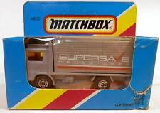 Matchbox MB 20 Volvo COE Delivery Truck Grey Supersave Drug Stores