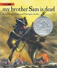 My Brother Sam Is Dead by James Lincoln & Christopher Collier 2013 NEW AudioBook