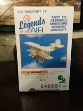 Brand New Miniture Wooden Aircraft Nieuport Model Kit Legends Of The Air