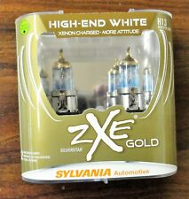 Sylvania Silverstar ZXE GOLD High-End White H13 - set of 2 NEW Sealed Bulbs