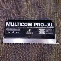 Behringer Multicom Pro-XL MDX4600 4 Channel Compressor / Limiter/ Gate