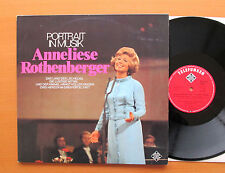 Anneliese Rothenberger Portrait In Musik 2xLP Gatefold Telefunken TS 3182/1-2 NM