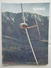 REVUE SOARING 7/1977 ULTRALIGHT PLANEUR AS-W 17 APPALACHIANS XLRA-1 SCHWEIZER