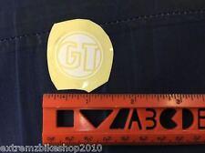 GT BIKES - CIRCLE LOGO - STICKER - DECAL -BMX STICKER - RETRO - WHITE