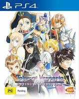 Tales of Vesperia Definitive Edition RPG Adventure Game Sony Playstation 4 PS4