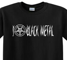 I Pentagram Black Metal T-Shirt Death Thrash Stoner Tech Grindcore Love Tee