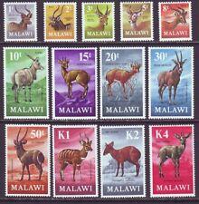 Malawi 1971 SC 148-160 MH Set Antelope