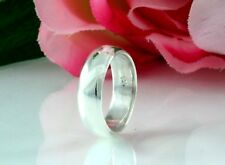 Wedding Engagement Band Ring Size 11.25 925 Solid Sterling Silver ~ 6Mm Classic