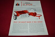 International Harvester 37 Hay Baler Dealers Brochure BWPA