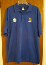 Best Buy & AT&T employee blue polo work shirt Size 2XL