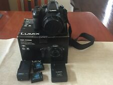 Panasonic LUMIX FZ2500 20.1MP Digital Camera - Black (20X LEICA Lens)