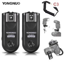 Yongnuo RF-603C II Wireless Flash Trigger C3 for Canon 50D 5D II 30D 20D 1D NEW