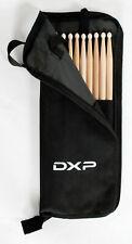 5 Pairs DXP 5A Drum Sticks and Stick Bag Drumsticks