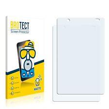 2x Alcatel One Touch OT-918D One Touch Display Schutz Folie Matt Entspiegelt