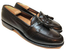 ALLEN EDMONDS Harvard Men's 9.5 C Narrow Black Leather Loafer Dress Casual Shoes