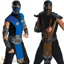 Mens Adult Mortal Combat Ninja Licensed Fancy Dress Costumes Outfit
