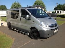 VAUXHALL VIVARO SWB DAY VAN CREW CAB WITH SEATS WINDOWS