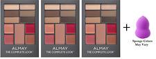 Almay The Complete Look Palette, Medium (3 Pack) + Makeup Sponge