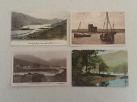 Vintage Postcard - Set of Four - Two with stamp - Loch ...(99,100,101,102)