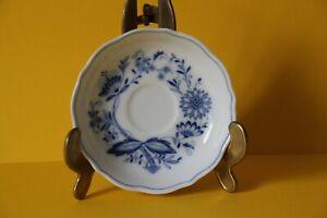 Tirschenreuth Zwiebelmuster Echt Cobalt Untertasse Untere für Kaffeetasse 14,3