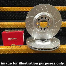 Mitsubishi Lancer EVO 6 7 8 9 SE MR FQ 300 320 340 360 rear brake discs & pads