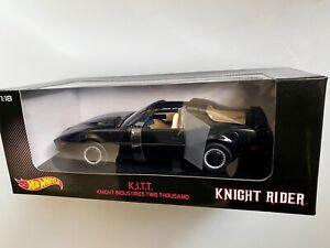 1:18 Hotwheels Knight Rider KITT very rare!
