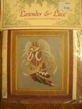 """Complete XStitch Materials """"ANGEL OF CHRISTMAS""""  by Lavender and Lace"""