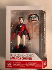 DC DIRECT DESIGNER SERIES AMANDA CONNER SUPERHERO HARLEY QUINN FIGURE (2017)