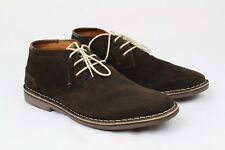 Kenneth Cole Unlisted Men's Real Deal Shoes Suede ChocolateSize12 Made inIndia