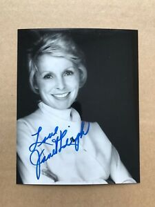Janet Leigh signed 6x4 photo