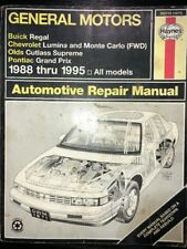 General Motors Haynes Repair Manual 38010 (1671) Chevy Olds Pontiac Buick