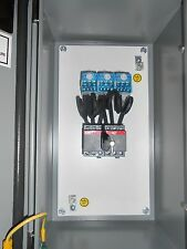 Ge 30amp Manual Transfer Switch Double Throw 600v 3 Pole Outdoor Type 124