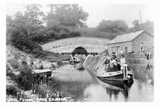 pt3930 - Stoke Bruerne Canal and Tunnel , Northamptonshire - photo 6x4