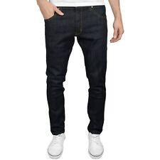 Wrangler Larston Dark Rinse Men's Slim Tapered Fit Stretch Jeans, BNWT