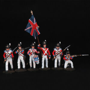 Tin soldier, Set of Grenadiers Foot Guard England 12 (6 miniatures) 54 mm